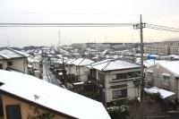 雪の街角モデルハウス.JPG