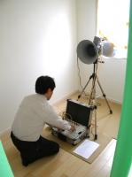 気密測定の結果 ウェルダンノーブルハウス.JPG