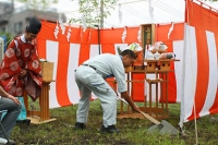 北欧輸入住宅 北欧スウェーデンの家 地鎮祭 東京都町田市 (2).jpg
