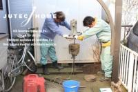 地盤調査 横浜市瀬谷区 2世帯住宅 北欧の家 (2).jpg