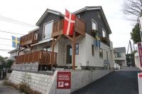 北欧スウェーデン風ハウス 外観 モデルハウス (1).JPG